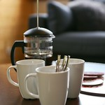 Coffee at Apartment Pleney II - More Mountain Self-catered Apartments in Morzine