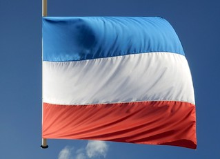 Dutch Flag Upside Down