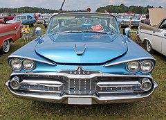 1959 Dodge Coronet (crusaderstgeorge) Tags: cars sweden dodge classiccars västerås 1959 americancars powermeet bluecars dodgecoronet americanclassiccars powerbigmeet 1959dodgecoronet