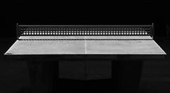 table tennis I (joe.laut) Tags: bw contrast table blackwhite august tennis sw schwarzweiss schatten miniseries 2014 incoloro joelaut