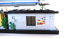 Back of Shop (Piece of Slice) Tags: rebel dawn vines lego explosion cargo forge resistance