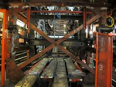 Bond St Esc 3-5 14-07-24 (52)r (Funny Cyclist) Tags: escalator tube londonunderground bondst blackhorseroad machinechamber