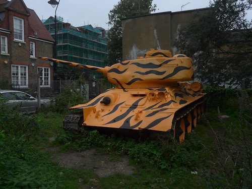 Old Kent Road Tank