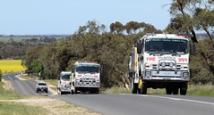 Convoy (adelaidefire) Tags: rescue fire south country australian engineering australia moore sem service fraser isuzu cfs strathalbyn