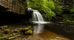 West Burton Waterfall - North Yorkshire - Chris Smith - Captured Canvas (capturedcanvas.co.uk) Tags: chris trees west tree green water forest canon lens rebel waterfall flickr tripod captured smith canvas filter prints burton xsi 1740l 450d