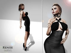 Like a tiger I (***ReneeAura***) Tags: life set tattoo hair necklace clothing women dress skin rings nails second heels earrings cleavage bodyparts animations poses zoz baubles jewerly accessory penumbra katink wowskins pinksugah lolasappliers lubblyjubblies eclipseartstudio reeatattoo shoesforslink