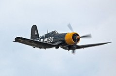 Gull-Wing.. (mickb6265) Tags: 130 tfc imperialwarmuseum iwm goodyearfg1dcorsair thefightercollection duxfordairshow13thseptember2014