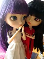 Shinobu se pierde - avance (Lunalila1) Tags: doll track dress handmade lila wig groove pullip kira kuro vii tachibana xiaofan junplaning stica balastegui shinsepierde