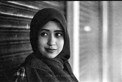 Lucky100 (leonlee28) Tags: portrait bw film female analog blackwhite model nikon monotone filmcamera f80 analogcamera filmslr leonlee28 leonlee