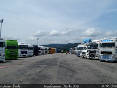 Handicamino Trucks 2015 (Amine Bachi) Tags: man mercedes volvo nikon transport meeting renault camion coolpix trucks tuning scania daf montlimar l820 handicamino