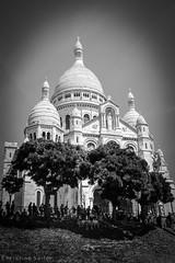 Montmartre (Christine Seiler Photography) Tags: street blackandwhite bw paris montmartre sacrecoeur schwarzweiss