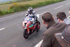 RL360 Superstock TT: Michael Dunlop (2nd) (SkyFireXII) Tags: tt isleofman redarrows grandstand superstock tt2015