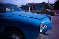 Karmann Ghia (nocklebeast) Tags: santacruz car karmannghia nrd scphoto bo2015 ghial3407639 lomolcaminitar132mmf28 lomolcaminitar1artlens2832m va0001991072 effectivedateofregistrationaugust152015 va1991072