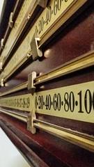 what's the score-195130 (inthepinkJune) Tags: farnham england unitedkingdom gb billiards snooker crafts brass wood 483652017