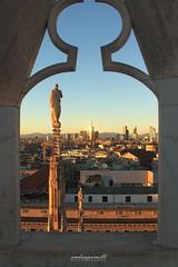 IMG_5658 (andreaprinelliphoto) Tags: andreaprinelliphoto andreaprinelli prinelli milano duomo piazzadelduomo milan lombardia duomodimilano terrazze panorama landscape sunset sunsetmania tramonto crepuscolo statua