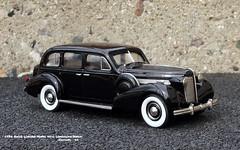 1938 Buick Limited Model 90-L Limousine Sedan (JCarnutz) Tags: 143scale diecast brooklin whitemetal 1938 buick limited limousine