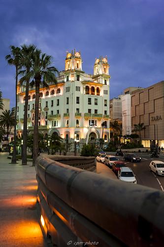 Edificio Trujillo, rincones de Ceuta.