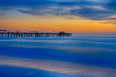 Redington Beach Blues (Jos Buurmans) Tags: beach blue bluehour coastallandscape coastline colourful colours evening fl florida landscape nature northamerica northwest orange pier redingtonbeach redingtonshores sea seascape sunset twilight us usa unitedstates unitedstatesofamerica