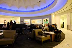 Central rotunda (A. Wee) Tags: deltaairlines 达美航空 skyclub airport lounge 机场 lax losangeles 洛杉矶 california 加州 usa america 美国 rotunda