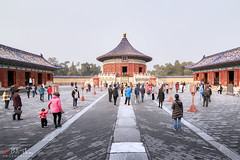 Temple of Heaven (Bill Thoo) Tags: templeofheaven beijing china temple heaven imperial emperor royal chinese travel tourism monument historical architecture red landscape urban city sony a7rii samyang 14mm