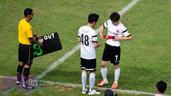 Asian Dream Cup 2014 Match (popinasia) Tags: park man cup indonesia asian asia soccer south dream running korea pop jakarta friendly match crayon southkorea kpop runningman parkjisung crayonpop asiandreamcup popinasia