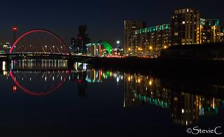 Glasgow City Lights