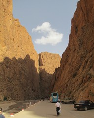 Todgha Gorge (Souss-Massa-Drâa Region, Morocco) (courthouselover) Tags: landscapes morocco maroc todragorge المغرب almaghrib toudragorge soussmassadrâa todghagorge soussmassadrâaregion régiondusoussmassadrâa