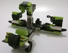 7 (ezrawibowo) Tags: robot lego transformer scifi mecha alternate moc legoformer