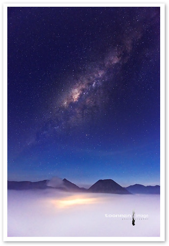 Milky Way, Mount Bromo Photography Trip June 2014, Bromo Tengger Semeru National Park, East Java, Indonesia.