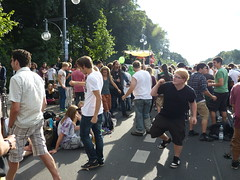 Street rave in Berlin (kpjf) Tags: city