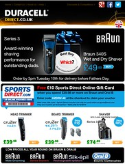 Celebrate Fathers Day with Braun