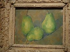 Cezanne (sftrajan) Tags: sanfrancisco stilllife art museum painting pears exhibit impressionism artmuseum impressionist cezanne californiapalaceofthelegionofhonor mueo nationalgalleryofartwashington intimateimpressionism