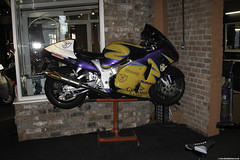 DSCN0118 (Betapix) Tags: west coast paint lift corona motorcycle suzuki rizer eazy hayabusa gsx1300r akrapovic