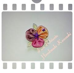 An orchid from Orient to delight your day... charming.  Un oriental orquídea para encantar  tu día... magia. Un'orchidea dall oriente per deliziare la tua giornata! Che magia.  Handmade kanzashi Fioridoriente #handmade #kanzashi #fioridoriente #kimono #ge (fioridoriente) Tags: flowers flores orchid flower fleur fashion japan fleurs handmade flor moda style maiko geisha kimono fiori fiore giappone spille kanzashi accessori fioridoriente japaesefashion