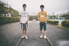 """军事跑道上 (敗給考試) Tags: film 35mm vintage f14 sony ts a7 customs 毕业 tiltshift 兄弟 记忆 """"shanghai samyang 复古 college"""" 移轴 上海海关学院"""