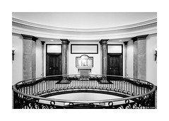 The Old Town Hall 6 (jrockar) Tags: blackandwhite bw building london classic beautiful stone architecture contrast mono design town hall nikon bright interior style tokina staircase historical 28 marble railing luxury f28 lightwell 7k 1116 bermodsey d7000 nikond70007k tokina1116f2828urbancitytownhall