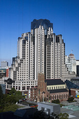 Godzilla Attacking the City (Bill in DC) Tags: sf sanfrancisco california ca marriott hotels 2014 marriottmarquis eos5d3