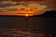 DSC_0058 (RUMTIME) Tags: sunset sky clouds boats queensland storms soe coochie coochiemudlo sunsetssunrises