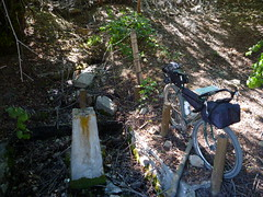 Spring Water! (RSpinnaKing) Tags: road atlanta party mountain hot get bike river ride time rad fork idaho boise route dirt springs middle touring featherville limberlost bikepacking