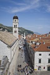 Stradun, Dubrovnik, Croatia (SteMurray) Tags: approved dubrovnik croatia travel photographs architecture stradun city walls texture colour summer stesphotos