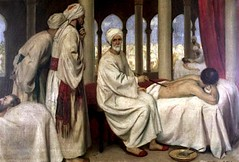 elledwarfhunter submitted to medievalpoc: Abu l-Qasim Khalaf ibn Abbas al-Zahrawi (ca 9361013(?)) was a Muslim surgeon living in Cordoba under the Umayyad dynasty. Al-Zahrawi was the first to describe an ectopic pregnancy as well as the first person to (medievalpoc) Tags: history spain science medieval surgery math week medicine abu dynasty ibn physician 1000s umayyad khalaf alzahrawi medievalpoc pre1000s lqasim abbas