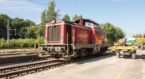 Bentheimer Eisenbahn D21 op rangeerterrein Bentheim r