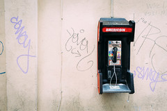 Americoin (thedecentexposure) Tags: street travel usa travelling america 35mm photography telephone neworleans nola citiyscape americoin