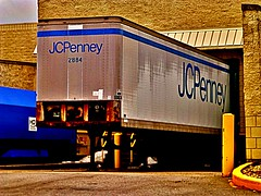 JCPenney Truck (Nicholas Eckhart) Tags: ohio usa retail america truck mall us departmentstore oh stores findlay 2014 jcpenney findlayvillage