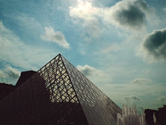 Modern Above the Old (Antony Zacharias) Tags: shadow paris museum louvre glasspyramid shillouette louvremuseum