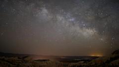 Starry Nights in Utah (maguire33@verizon.net) Tags: stars utah timelapse tl archesnationalpark startrails milkyway fishertowers brycecanyonnationalpark starstax