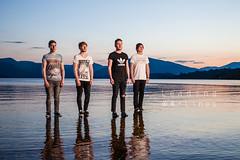 Weekend Wars (old not bold) Tags: sunset music scotland band lochlomond walkingonwater millarochy weekendwars standonwater