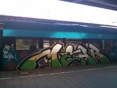 MEAR (Jrgo) Tags: train graffiti osnabrck trainspotting mnster paintedtrain mear trainwriting graffitigermany