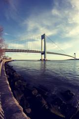 Verrazano-Narrows Bridge - Brooklyn (pawelgoral1985) Tags: new york city bridge brooklyn verrazanonarrows