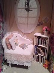 Ghost Bedroom (greatbigcrunch) Tags: bedroom ghost mini diorama dollhouse minia 16scale